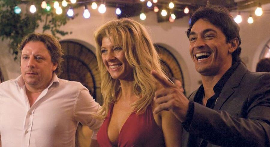 Han, hun og hendes elsker - Anders W. Berthelsen, Paprika Steen og Sebastian Estevanez.