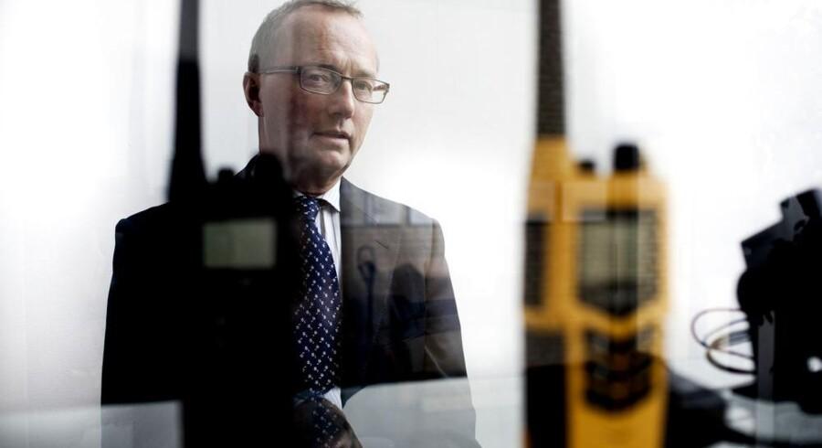 Thrane & Thranes administrerende direktør, Walther Thygesen, skal skaffe op mod 50 flere udviklingsingeniører til sin virksomhed, og det store flertal skal arbejde i københavnsområdet. Arkivfoto: Morten Germund