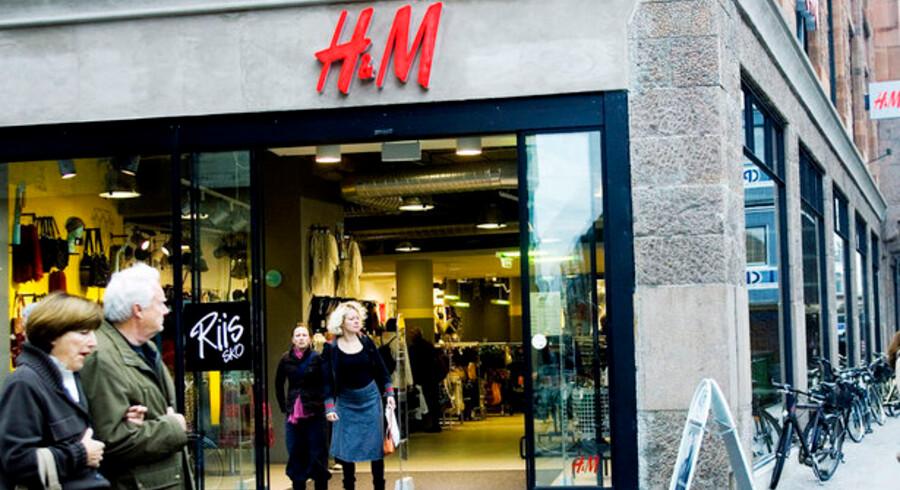 H&M trodser alle krisetegn og fastholder deres ekspansionsplaner, der tæller åbningen af 225 nye butikker i 2009.