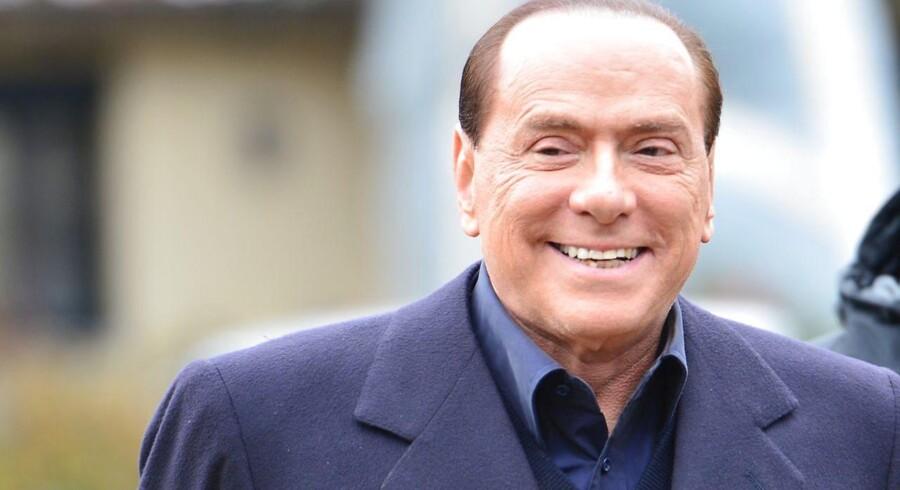 Berlusconis begejstring over et muligt come-back til italiensk politik bliver ikke delt på de finansielle markeder