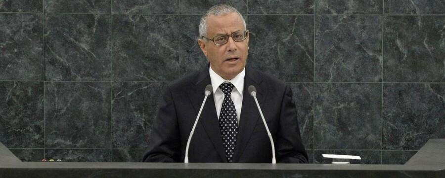 Libyens premierminister Ali Zeidan er bortført af oprørere.