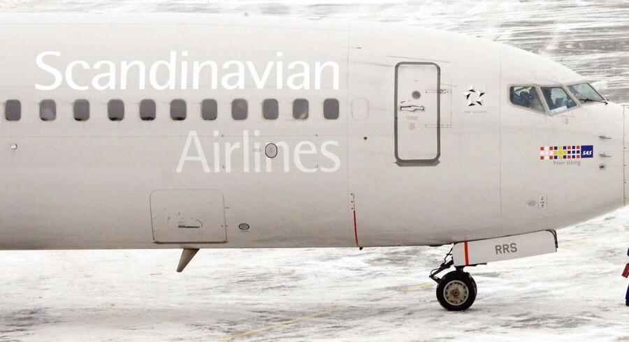 Alle fly fra Skandinavien mod New York er aflyst på grund af snestormen Nemo, der hærger på den amerikanske østkyst.