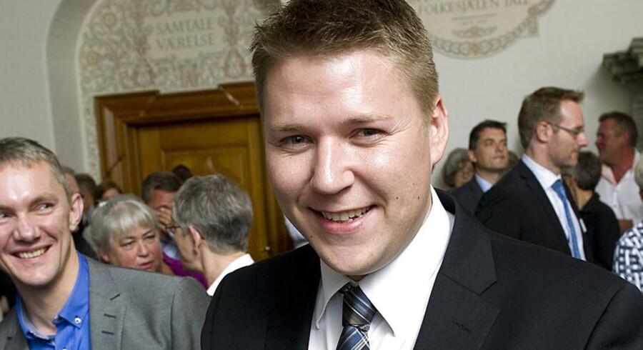 ARKIVFOTO. Socialdemokraternes ligestillingsordfører Rasmus Horn Langhoff (S).