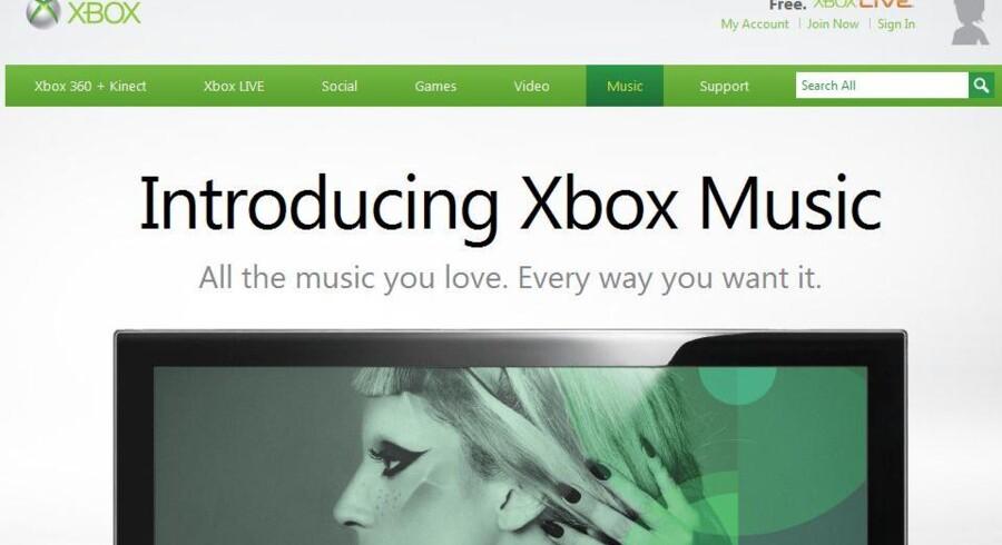 Musik er et vigtigt våben i kampen om kunderne. Xbox Music, som også er tilgængelig i Danmark, er Microsofts våben mod bl.a. Apple.