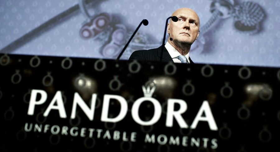 Pandoras administrerende direktør Allan Leighton fremlagde i dag et tilfredsstillende kvartalsregnskab.