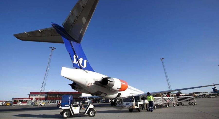 ARKIVFOTO. Det går fremad for det skandinaviske luftfartsselskab i andet kvartal, hvor underskud er vendt til overskud.