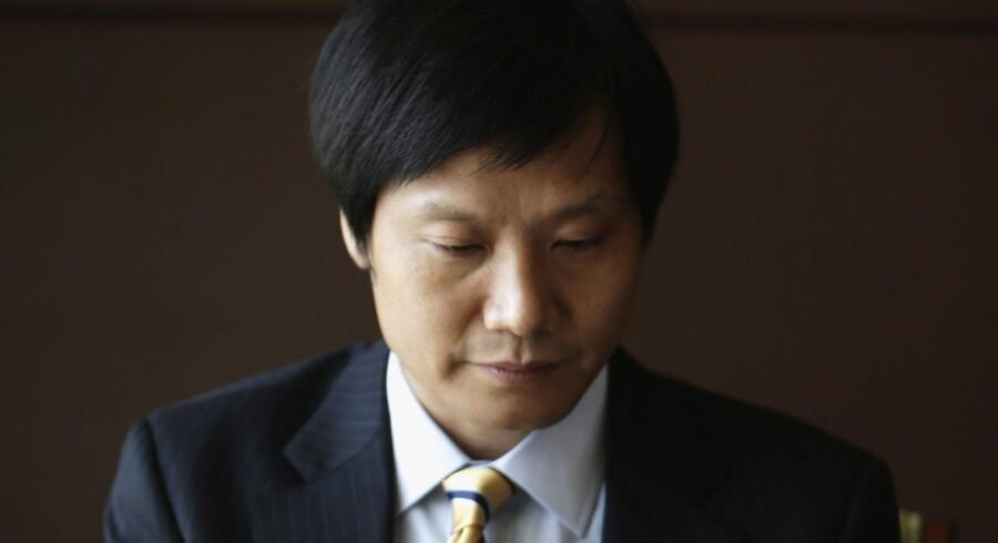 Stifteren og direktøren for Kinas store mobilselskab Xiaomi, Lei Jun, bliver af mange sammenlignet med den nu afdøde stifter af Apple, Steve Jobs. Foto: Jason Lee/Reuters