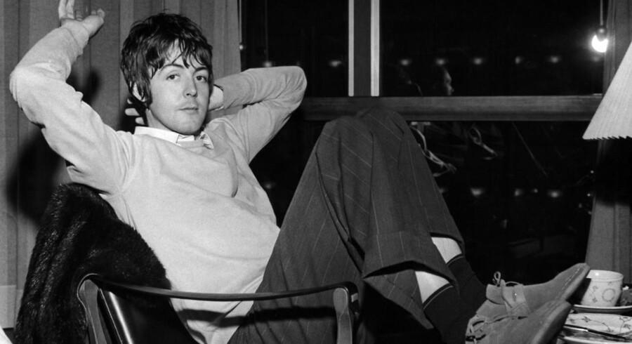 Paul McCartney i København i oktober 1967.