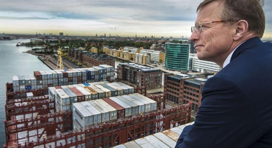Nils Smedegaard Andersen, administrerende direktør for rederikoncernen A.P. Møller - Mærsk