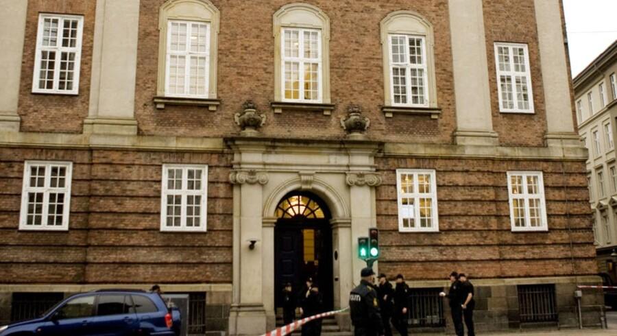 Ifølge tal fra Dansk Arbejdsgiverforening steg lønnen med 1,8 pct. i forhold til ca. 4,0 pct. i Tyskland. Her ses DAs hovedkvarter i København.