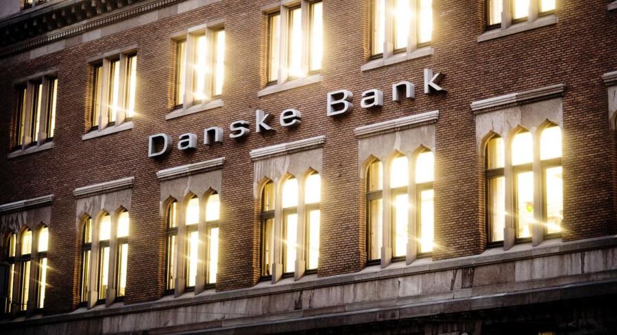 Danske Bank er fortsat en kolos i forhold til Danmarks størrelse, idet bankens balance er næsten dobbelt så stor som Danmarks bruttonationalprodukt.