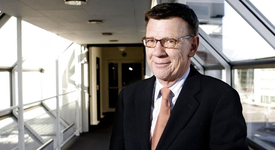 Koncernchef i PFA, Henrik Heideby, lægger ti milliarder kroner på bordet.