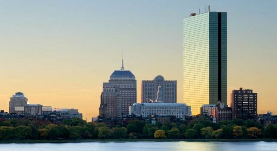 Bain Capital, der ligner en ny ejer af betalingsudbyderen Nets, har hovedsæde i New Englands højeste skyskraber, John Hancock Tower.