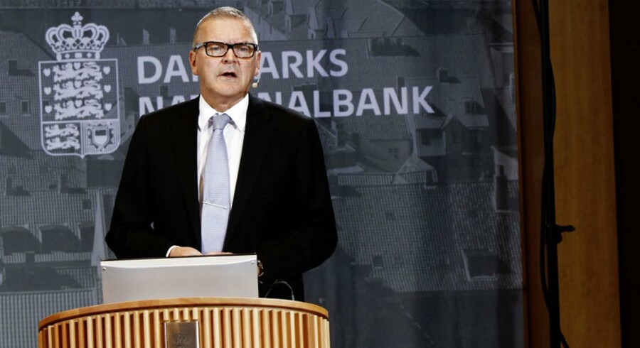 Nationalbankdirektør Lars Rohde. Arkivfoto.