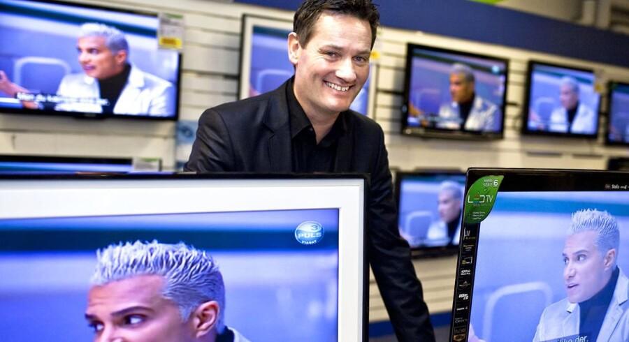 Arkivfoto. Der er ikke længere så meget at smile af for Elgiganten på Fisketorvet. Det er blevet for dyrt at holde til dér, mener direktør Jesper Boysen, der flytter varehuset ind til København centrum.