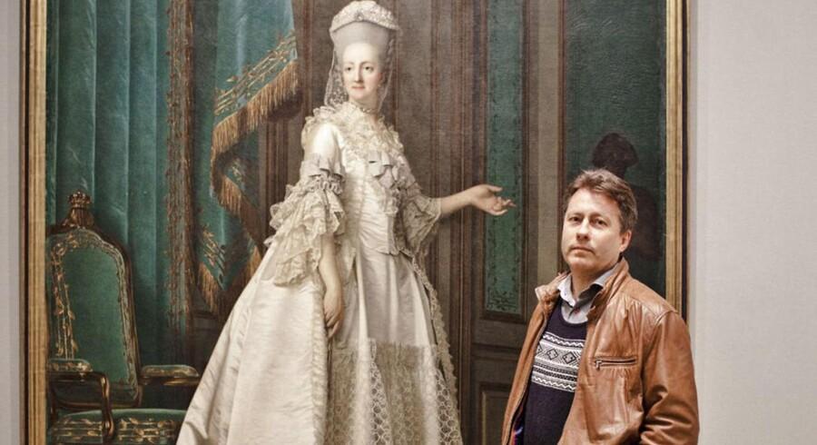 Samfundet vinder intet ved at give kvinder fortrinsret, siger Hans Bonde, her fotograferet på Statens Museum for Kunst.