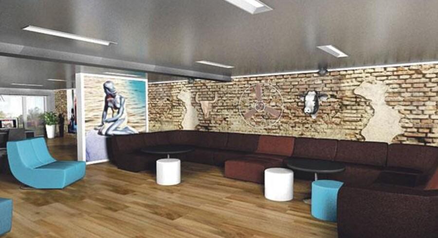 De tidligere elegante lejligheder i Adelgade skal nu indrettes til ungdomsherberg for unge rygsækrejsende. Stilen bliver som på billedet. Det nye hostel bliver en del af kæden Generator Hostels, der er ejet af den britiske kapitalfond, Patron Capital Ltd., som er ved at udbygge kæden til en række af Europas mest trendy storbyer.