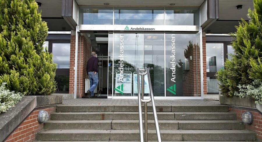 Danske Andelskassers Banks Hovedsæde på Viborgvej i Hammershøj mandag den 24. juni. (Foto: Henning Bagger/Scanpix 2013)
