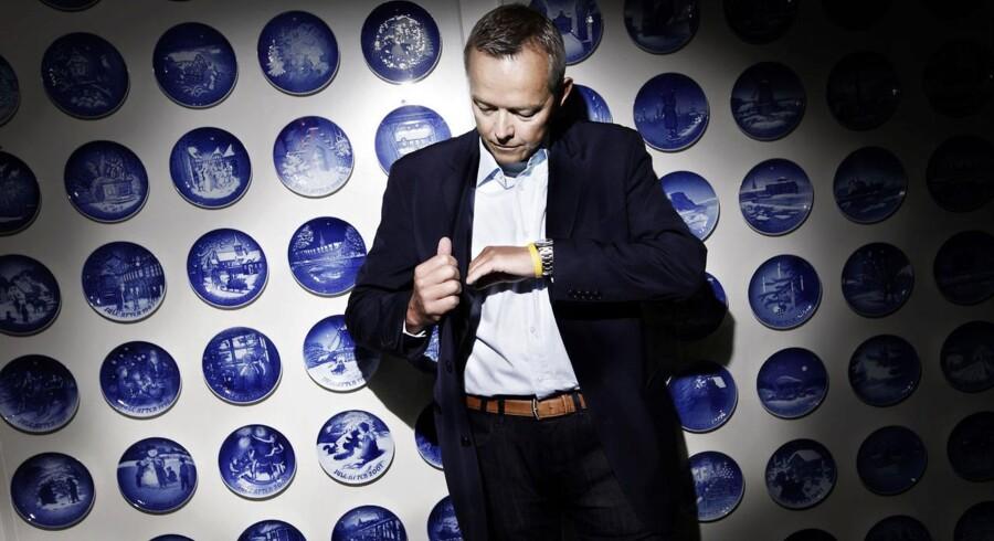 Mads Ryder var topchef i Royal Copenhagen fra 2009 til foråret 2013, og Konkurrencestyrelsen vil nu undersøge, om han forsøgte at presse Imerco-kæden til at holde priserne oppe på Royal Copenhagens produkter. Foto: Nikolai Linares
