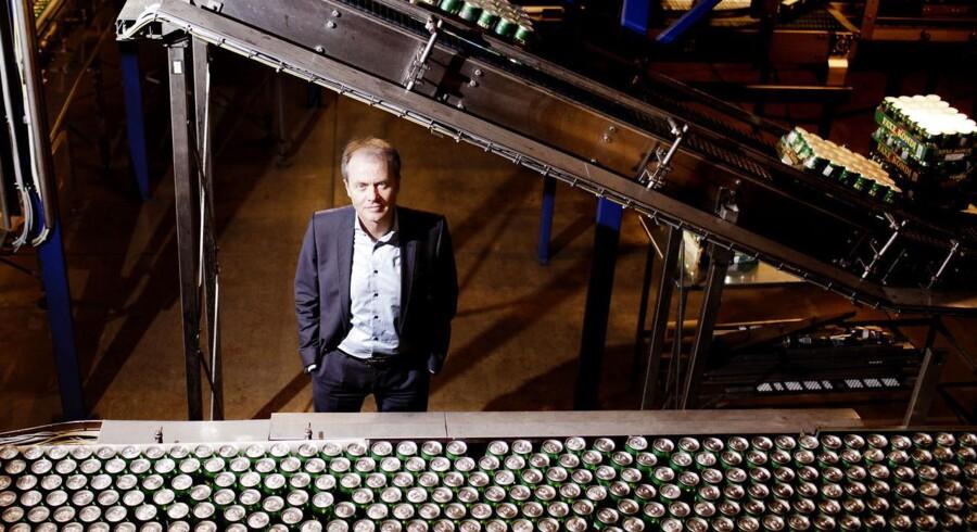 Administrerende direktør i Unibrew Henrik Brandt.