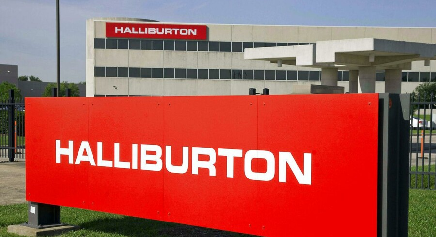 Olieselskabet Halliburton forventer en forbedring i operationerne på den østlige halvkugle på 13-17 pct., mens man venter en flad udvikling i antallet af landbaserede platforme i Nordamerika.