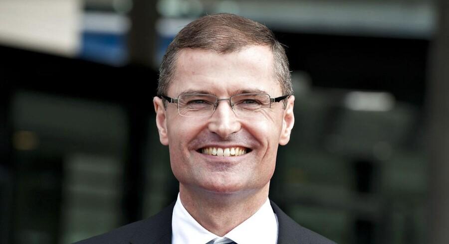 Vestas' administrerende direktør, Ditlev Engel, er en af de topchefer, som kan se frem til en flot gevinst fra de aktieoptioner, Vestas i 2012-optionsprogrammet har drysset ud over ledelsen.