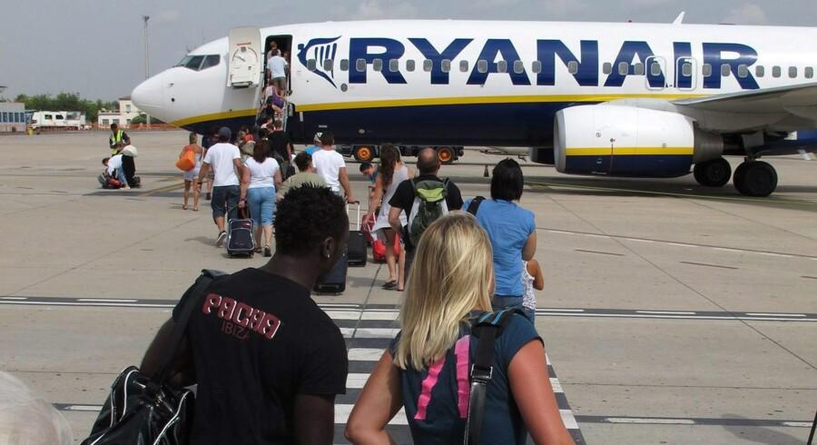 Berlingske forsøger at finde svar på, hvorfor der ikke findes et selskab som Ryanair i USA. Foto: Epa/Jaume Sellart