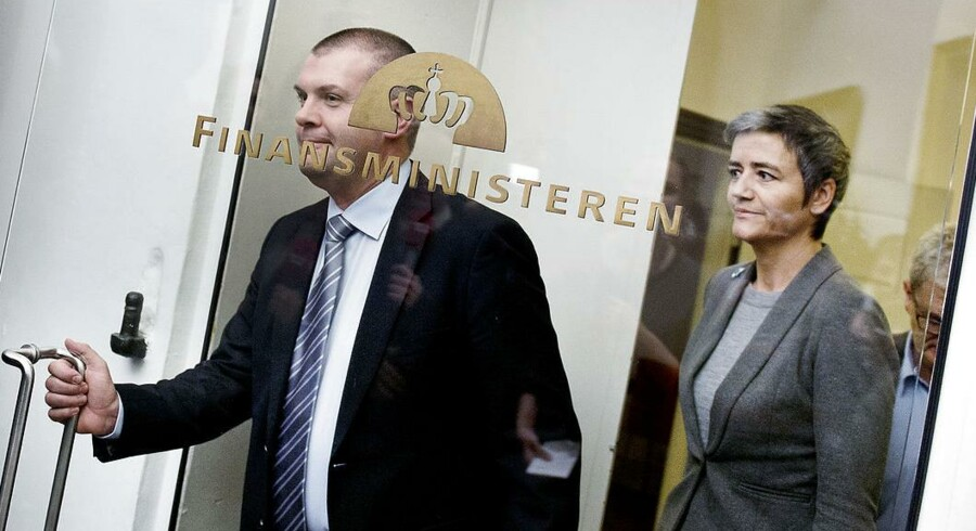 Bjarne Corydon og Margrethe Vestager