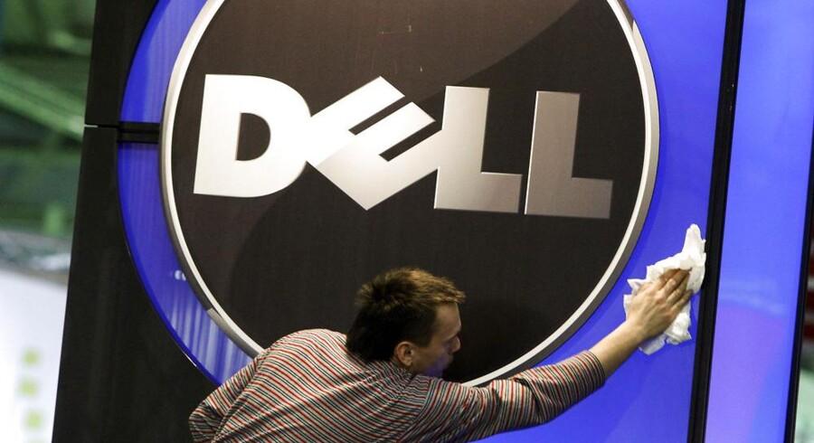 Der skal en del pudsemiddel til at holde glansen hos Dell, som kæmper med vigende salg. Arkivfoto: Thomas Peter, Reuters/Scanpix
