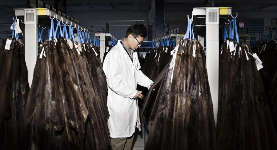 Danske Kopenhagen Fur er verdens største pelsauktionshus og sælger skind til hele verden.