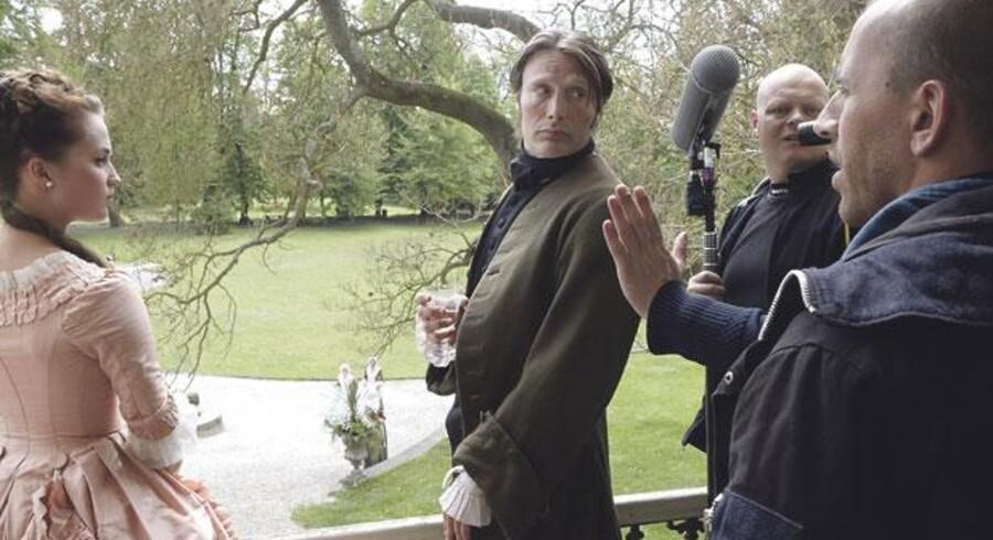 Romancen mellem Struense og Caroline Mathilde er også blevet filmatiseret flere gange. Her med det unge svenske skuespillerhåb Alicia Vikander, Mads Mikkelsen, der bliver instrueret af Nikolaj Arcel på et slot i Ploskovice i Tjekkiet