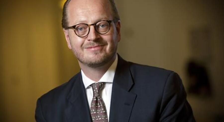 PR-foto. Jesper T. Lok er ny DSB-direktør.