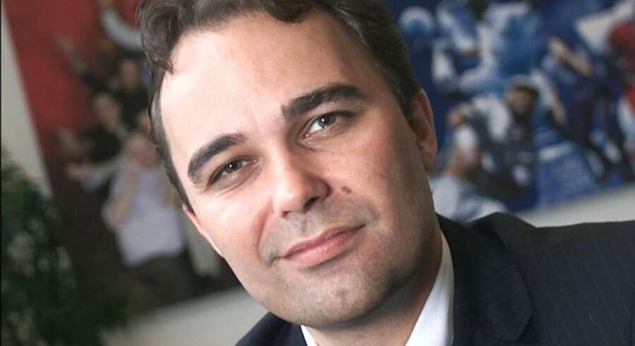 Jesper Grønholdt skifter spor efter bare et halvt år som chef for Viasat.