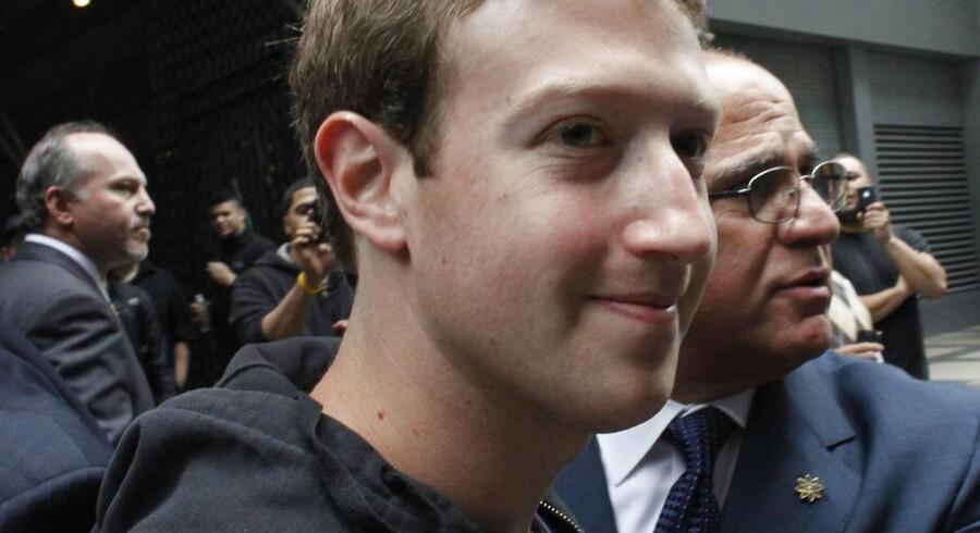 Facebooks optionsordninger tiltrækker sig nu opmærksomhed. Her ses stifter og topchef Mark Zuckerberg.