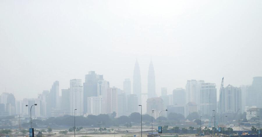 Luftforurening i Kuala Lumpur.