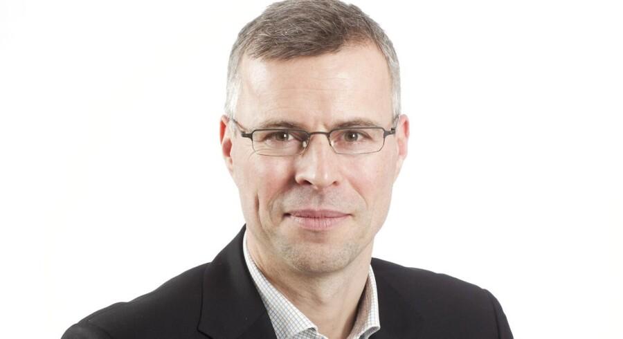 Thomas Larsen har hel ugen været i Davos.
