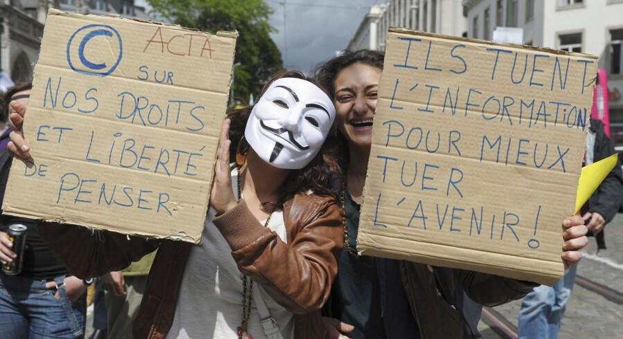 Også i Belgien har der været protester mod ACTA