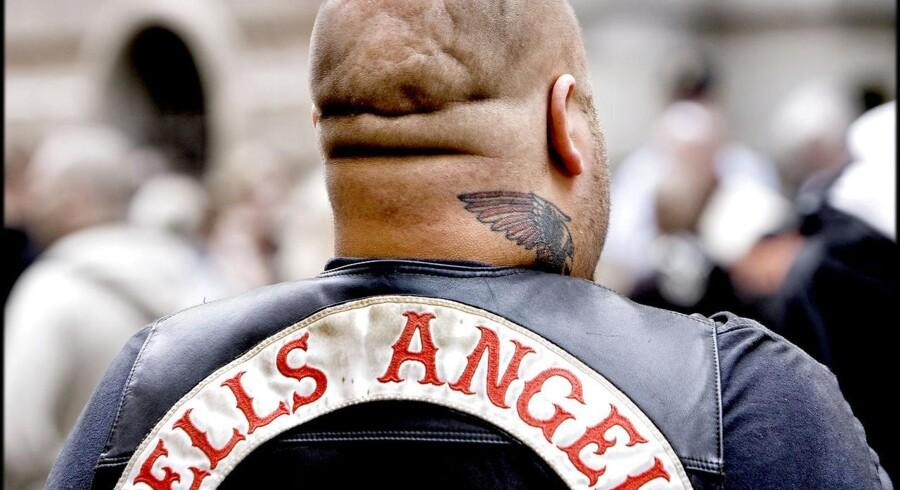 ARKIVFOTO. Hells Angels rygmærke. (Foto: Bax Lindhardt/Scanpix 2012)