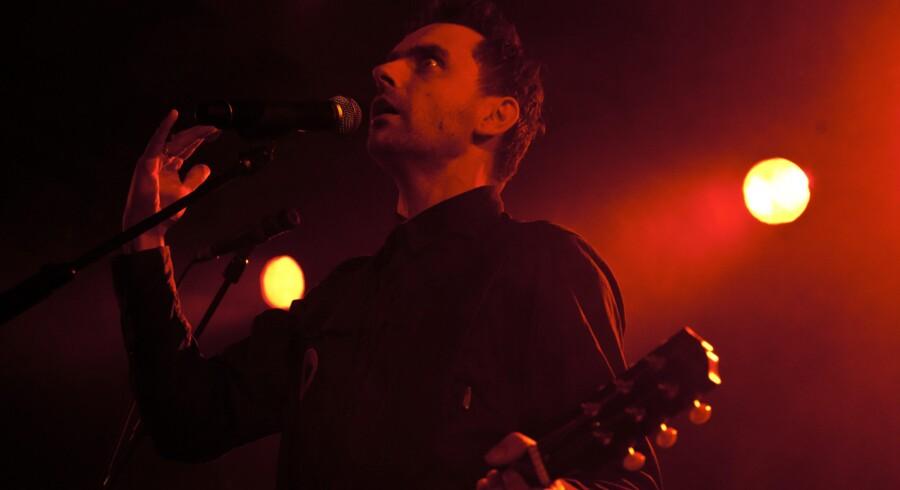 Simon Kvamm er forsanger i rockbandet Nephew.Arkivfoto: Betina Garcia
