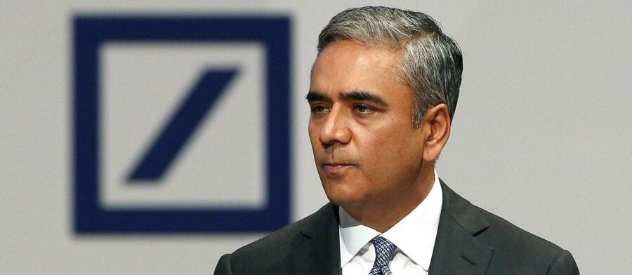 Anshu Jain, co-CEO of the Deutsche Bank addresses the annual shareholder meeting in Frankfurt/Main, Germany, on May 21, 2015. Deutsche Bank has launched an internal probe into its investments division in Russia, it said Wednesday, as the German media reported suspected money-laundering. AFP PHOTO / DANIEL ROLAND