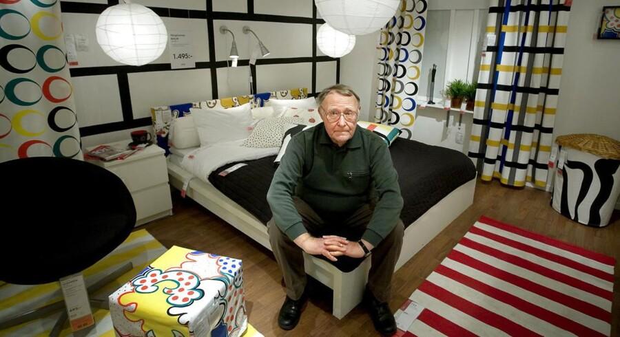 Ingvar Kamprad flytter snart fra Schweiz, og han tager sine skattekroner med sig.