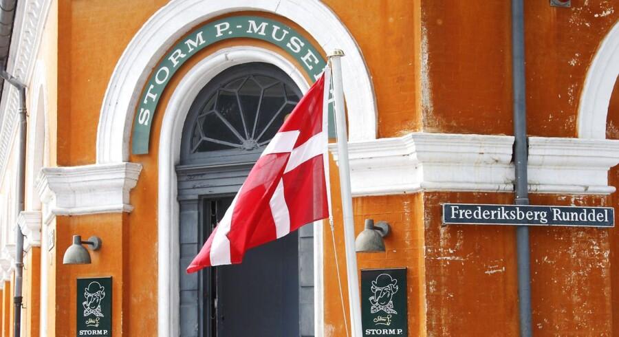 Kulturministeriet har bevilget ni millioner kroner til en række danske museer.bl.a. Storm P. Museet på Frederiksberg Runddel.