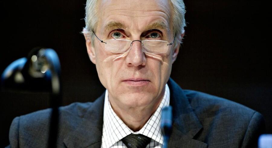 Nationalbanken lagde et betydeligt pres på Danske Banks daværende direktør Peter Straarup (billedet) og bestyrelsesformand Alf Duch-Pedersen - og holdt en hånd under banken.