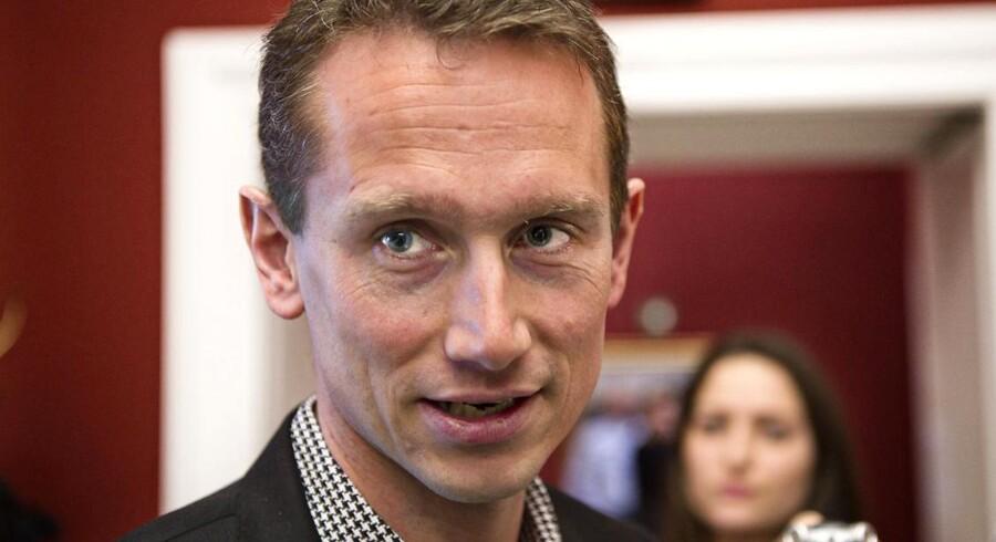 Venstres gruppeformand og næstformand Kristian Jensen har haft en kometagtig politisk karriere.
