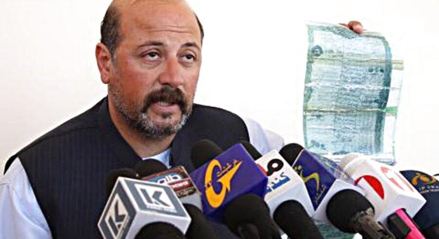 ARKIVFOTO. Hashmat Karzai (foto) var kampagneleder for præsidentkandidat Ashraf Ghani, der er den ene af de to kandidater, som kæmper om at overtage magten efter Hamid Karzai.