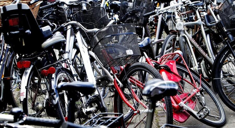 Cyklerne i København kan godt savne parkeringsmuligheder