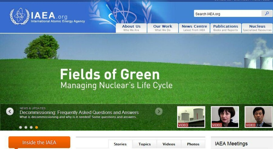 FNs internationale atomenergiagentur er blevet hacket.