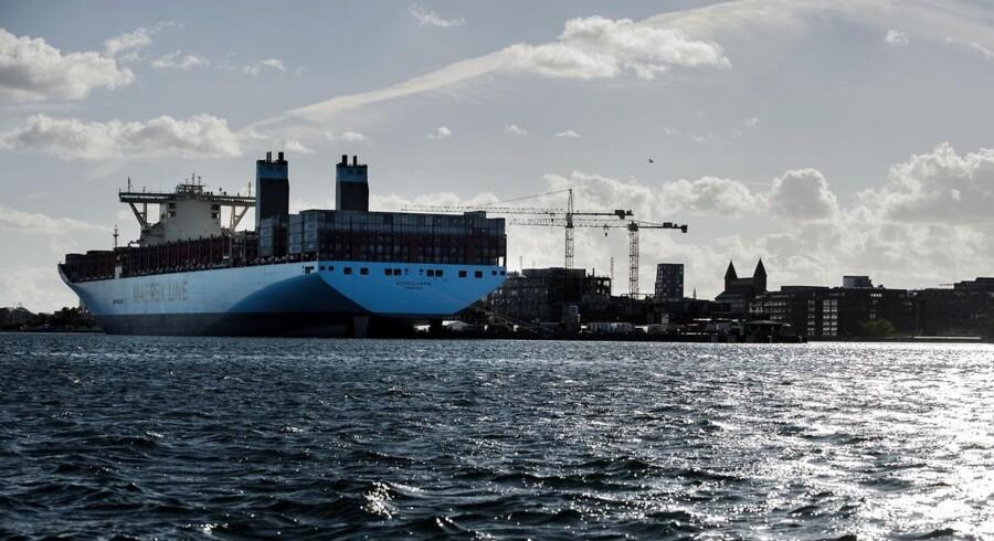 Der er forud for regnskabet for tredje kvartal spænding om omkostningerne i Maersk Line.
