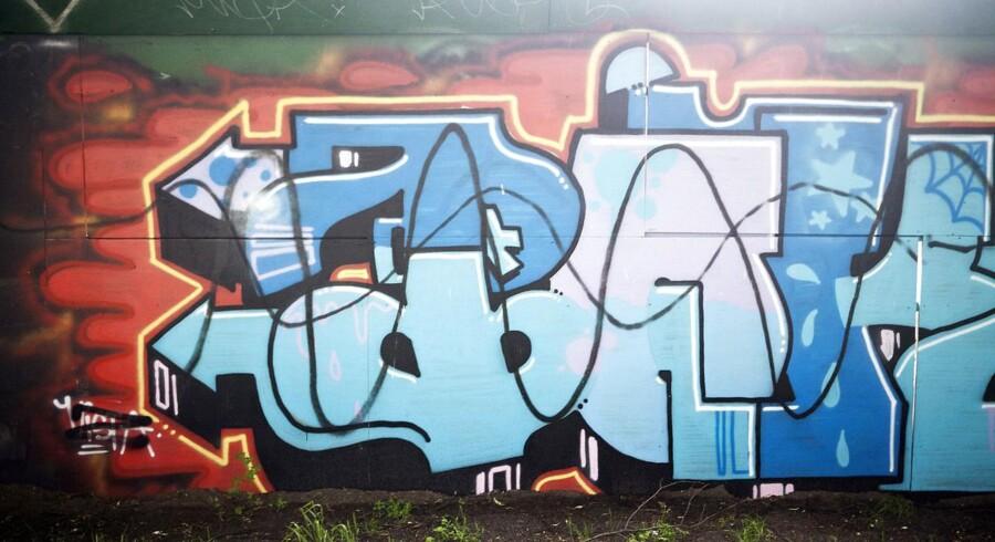 Street art eller vandalisme? Graffiti på Nørrebro.