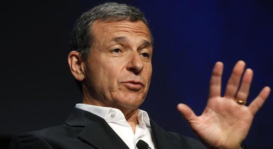 Disney-koncernens topchef, Robert Iger (billedet), træder ind i Apples bestyrelse, hvor Arthur Levinson bliver ny bestyrelsesformand. Arkivfoto: Fred Prouser, Reuters/Scanpix